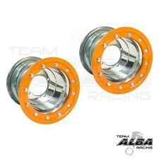 Banshee 350 Warrior 350  Rear Wheels  Beadlock  9x8  3+5  4/115 Alba Racing P/O
