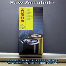 1 x Ölfilter Bosch P 9192 ,1457429192(OX 188D) VW Passat 2,0TDI 3,6FSI Golf VI