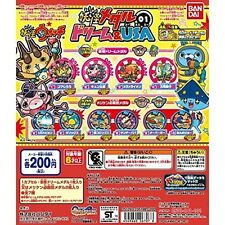 Yokai yo-kai Dream & USA 01 Medal Total all 10 pieces Youkai Japan