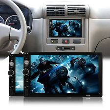 7'' 2Din HD Car Stereo MP5 Player Bluetooth Auto Radio USB AUX+Rear View Camera