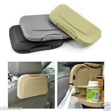 Multifunction Folding Car Back Seat Table Drink Food Cup Tray Holder Stand Desk