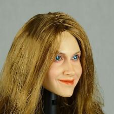 1/6 Phicen, Hot Stuff, Kumik, Nouveau Toys - Brunette Female Head Sculpt Laurie