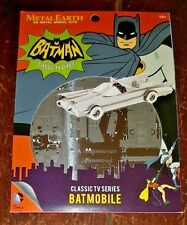 NIP Metal Earth 3D Metal Model Kits: Batman Classic TV Series BATMOBILE!