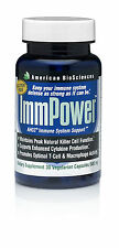 IMMPOWER, AHCC - American Biosciences - IMMUNE SYSTEM SUPPORT - 500 mg - 30 caps