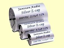 1 pc. Jantzen Audio  HighEnd  MKP  Silver Z-Cap  0,22uF 1200VDC / 600VAC 23x45mm