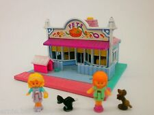 Polly Pocket Mini ★Tierhandlung / Pets shop 1993★ mit 4 Figuren**KOMPLETT**