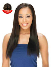 Saga 100% Remy  Invisable Part Human Hair  Wig - Sheer 18""