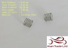 Stainless Steel Compression spring .45mm x 9.45mm x 9mm tool DIY metal @ 2 pcs