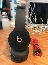 Beats by Dr. Dre Solo HD Drenched Headband Headphones - Matte Black - Fair