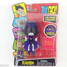 "DC Comics TEEN TITANS GO! Action Figure 5"" RAVEN w/ Glowing Eyes ! - Jazwares"