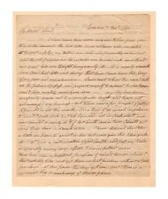 Samuel Ward Rhode Island Revolutionary War Officer 1792 Autograph Letter!