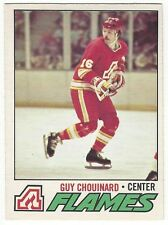 1977-78 OPC HOCKEY #237 GUY CHOUINARD 2ND YEAR - EXCELLENT-