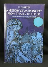 A HISTORY OF ASTRONOMY FROM THALES TO KEPLER - J.L.E DREYER