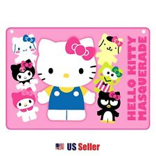 Sanrio Hello Kitty with Friends My Melody Pom Pom Keroppi Blanket Ponch