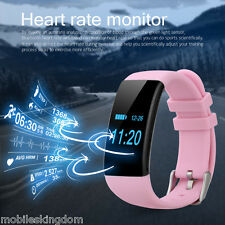Touch Bluetooth Smart Sports Wrist Watch Band Fitness Bracelet Heart Rate - IP68