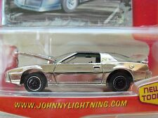 JOHNNY LIGHTNING - MUSCLE CARS - (1984) '84 PONTIAC FIREBIRD TRANS AM (CHROME)