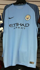 2016-17 Manchester City Soccer Home Jersey Short Sleeves X-Large Premier League