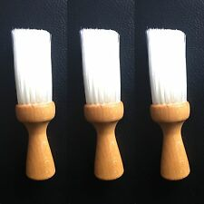 3 x SALON BARBER SOFT NECK BRUSH HAIR CUT REMOVER