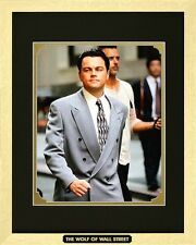 The Wolf of Wall Street. Leonardo Dicaprio as Jordan Belfort. Framed Movie Photo