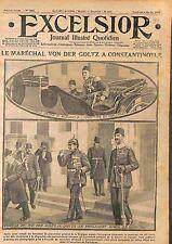 Field Marshal Colmar Freiherr von der Goltz Pasha Istanbul Ottoman  WWI 1915