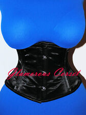 Corset Belt Short Underbust Waspie Waist Training Steel Boned Size Small 24""
