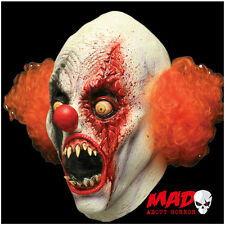 Deluxe CREEPY Clown Latex Collectors Mask-HALLOWEEN Evil Horror Costume SCARY
