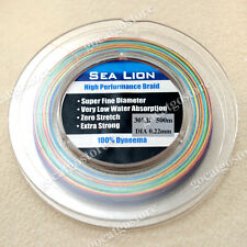 NEW Sea Lion 100% Dyneema Spectra Braid Fishing Line 500M 30LB Multi Color