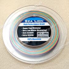 NEW Sea Lion 100% Dyneema Spectra Braid Fishing Line 500M 30LB Multi Color