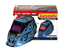 TELWIN MASCHERA SALDATRICE INVERTER LCD AUTOSCURANTE MIG-MAG Mod. BLUE FLAME