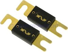 2PCs 100AMP 100A Car ANL Glass Fuse for Audio Subwoofer Amplifier Installation