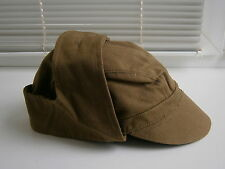 Soviet Soldier's Cap Ushanka Hat Russian Military Uniform USSR Army Surplus 1987