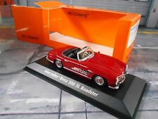 MERCEDES BENZ 300SL 300 SL Roadster W198 rot red 1955 Maxichamps Minichamps 1:43