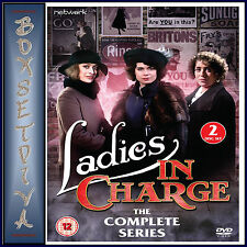LADIES IN CHARGE - THE COMPLETE SERIES **BRAND NEW DVD **