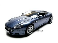 2004 ASTON MARTIN DB9 COUPE BLUE 1:18 DIECAST MODEL CAR BY MOTORMAX 73174