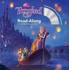 New TANGLED READ-ALONG STORYBOOK AND CD Disney PAPERBACK BOOK Free Shipping
