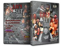 ROH Wrestling: Live and Let Die DVD, Eddie Edwards Jimmy Jacobs Cliff Compton