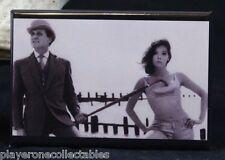 "Diana Rigg ""Emma Peel"" B & W Photo 2"" X 3"" Fridge Magnet. The Avengers"