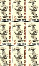 1963 - CITY MAIL DELIVERY - #1238 Full Mint -MNH- Sheet of 50 Postage Stamps