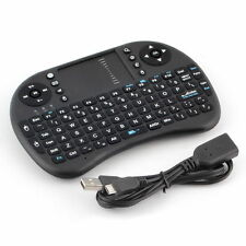 2.4G Wireless Mini Fly Air Keyboard Mouse Touchpad for Laptop PC PS3 TV BOX BY