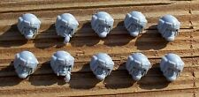 40K IG Cadian Troop Head Bits 10 Imperial Guard Bitz