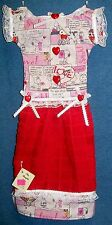 **NEW** Snoopy Valentine's Day Red Holiday Oven Door Kitchen Dress Towel #332