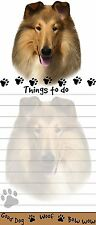 COLLIE Die Cut List Pad/Note Pad with Magnetic Back