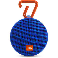 New JBL Clip 2 Waterproof Portable Bluetooth Speaker (Blue)