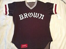 Vintage BROWN UNIVERSITY Game Used Worn Baseball JERSEY made by Rawlings #26