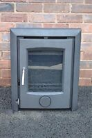 NEW! MADRID - Inset Insert. WoodBurning Stove, Log Burner, Multifuel Stove. 8kw!