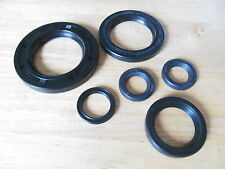 99-9956 1963-72 TRIUMPH T120 TR6 4 SPEED ENGINE & GEARBOX OIL SEAL KIT SET