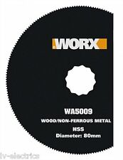 WORX WA5009 Disc Blade HSS Segment Saw for Sonicrafter Multitool Accessories