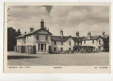 Brandon Hall Hotel Brandon Coventry Vintage RP Postcard 117b