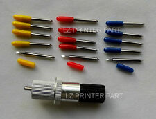 15pcs 30/45/60 degrees vinyl cutter plotter ROLAND blades + ROLAND Blade holder
