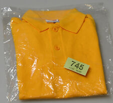 New Russell Boys Polo Shirt 539B Orange size S (ages 3-4/ 104cm) (tag745)